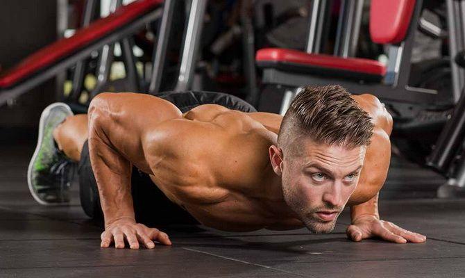 Программа отжиманий для набора мышечной массы