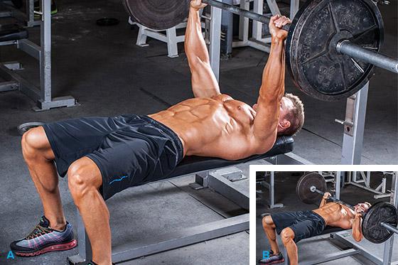 тренировка для наращивания массы грудных мышц