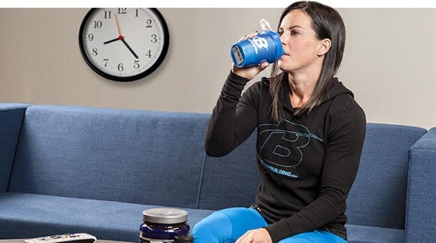 Прием протеинов перед сном