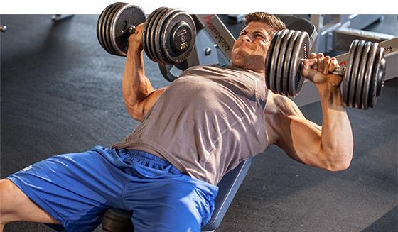 Количество повторений и рост мышц