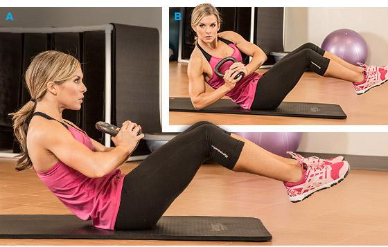 Базовые упражнения для пресса в домашних условиях