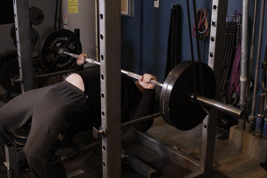 Силовая тренировка – жим лежа » Фатальная энергия