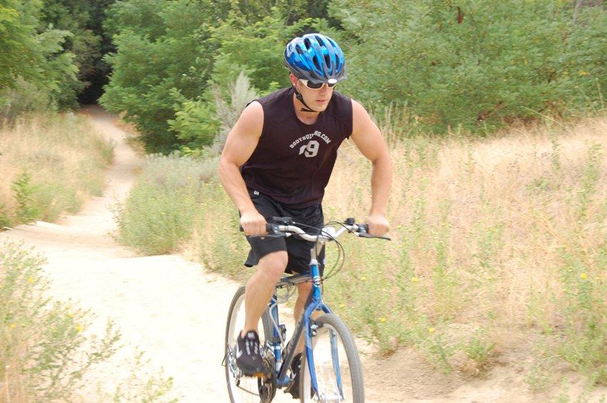 Езда на велосипеде, позиция 2
