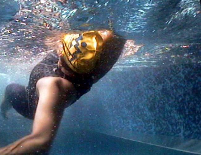 Плавание на спине, позиция 0
