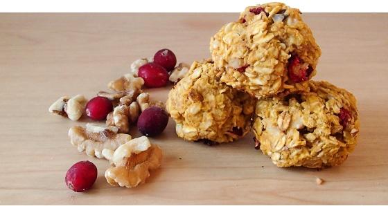 Тыквенные протеиновые шарики с арахисовым маслом