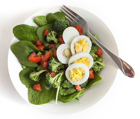 рецепты протеиновых салатов