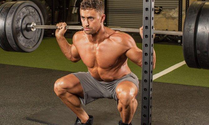 Вредны ли приседания со штангой для суставов что делать если щёлкают суставы в коленях