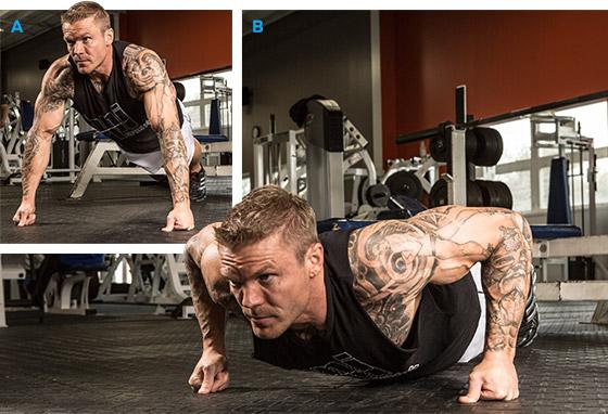 тренировка грудных мышц