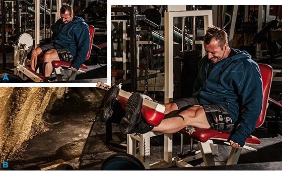 Программа для тренировки ног
