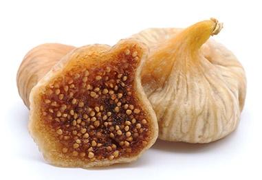 Богатые клетчаткой фрукты, Сушеный инжир