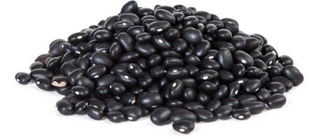 Черная фасоль, клетчатка