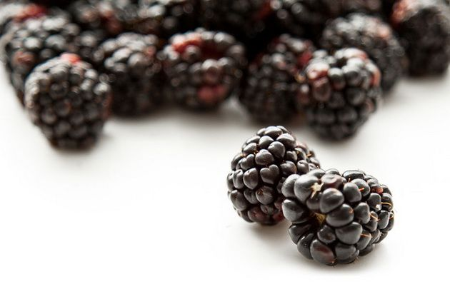 Богатые клетчаткой фрукты, Ежевика
