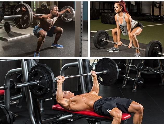 базовые многосуставные упражнения