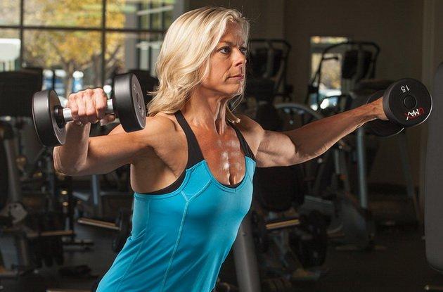 Упражнения для возрастных спортсменов