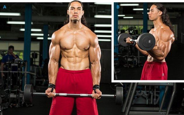 14 luchshix uprazhnenij dlya bicepsov dlya muzhchin 5 14 лучших упражнений для бицепсов для мужчин