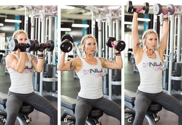 Тренировка плеч на форму и рельеф