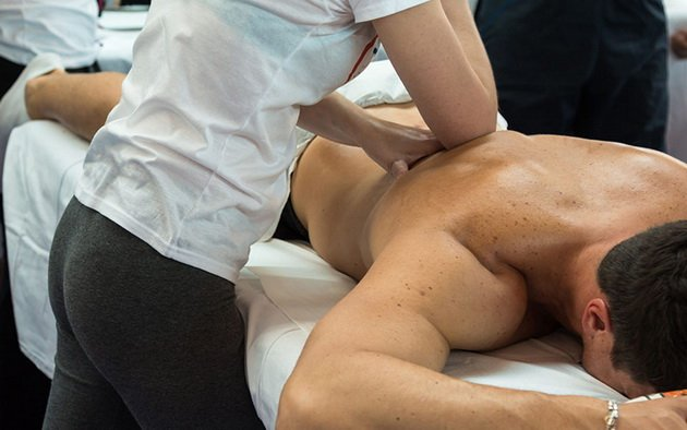 Тренировка с травмированной спиной