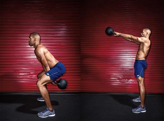 Лучшая тренировка с гирями на силу и мышечную массу
