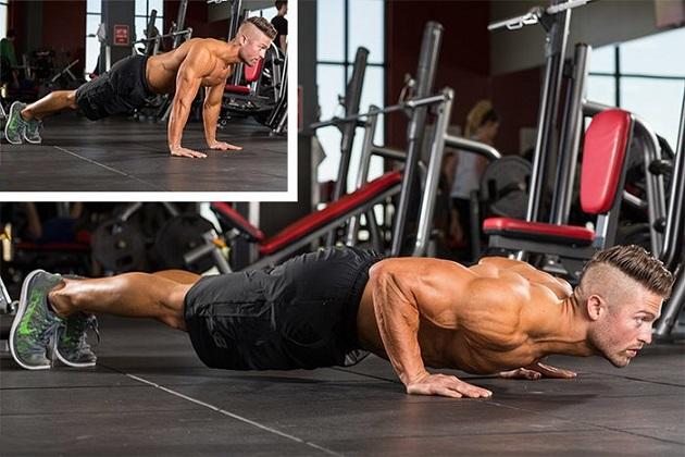 Тренировка мышц верхней части тела и кора в домашних условиях