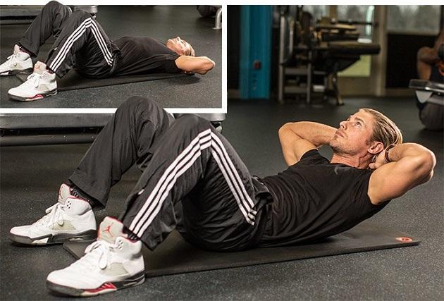 trenirovka myshc verxnej chasti tela i kora v domashnix usloviyax 55 Тренировка мышц верхней части тела и кора в домашних условиях