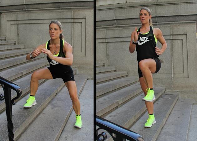 15 minutnaya trenirovka na lestnice 1 15 минутная тренировка на лестнице