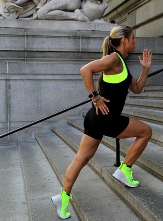 15-минутная тренировка на лестнице