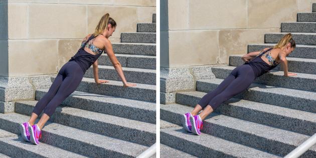 15 minutnaya trenirovka na lestnice 4 15 минутная тренировка на лестнице