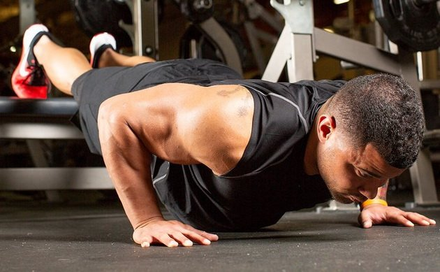 тренировка верха груди