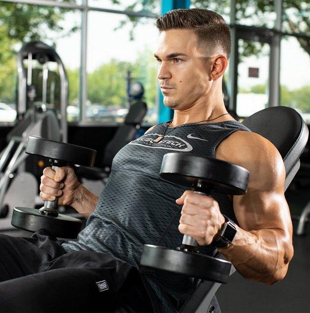 trenirovka dlya bicepsov iz 3 uprazhnenij 3 Тренировка для бицепсов из 3 х упражнений