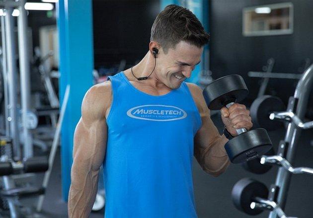 упражнения для плечевой мышцы на силу и объем рук