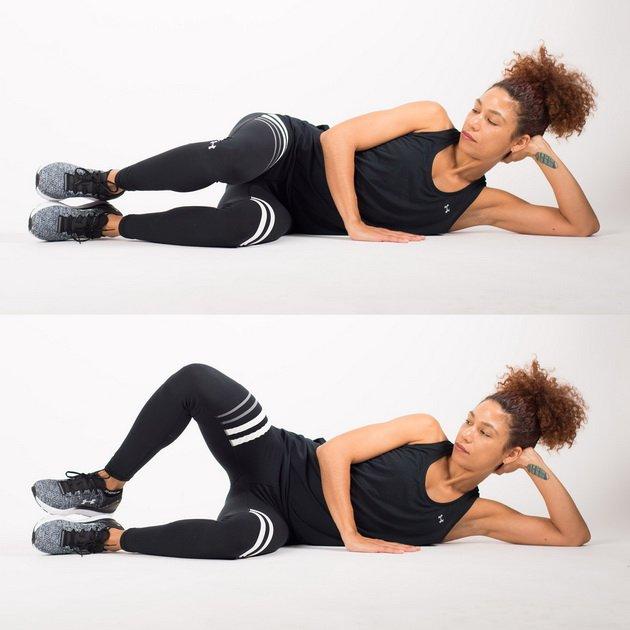 Упражнение «моллюск»