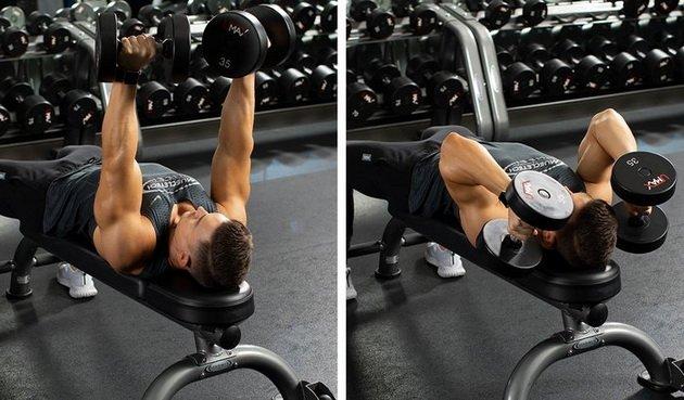 kak prokachat vse golovki tricepsa na odnoj trenirovke 2 Как прокачать все головки трицепса на одной тренировке