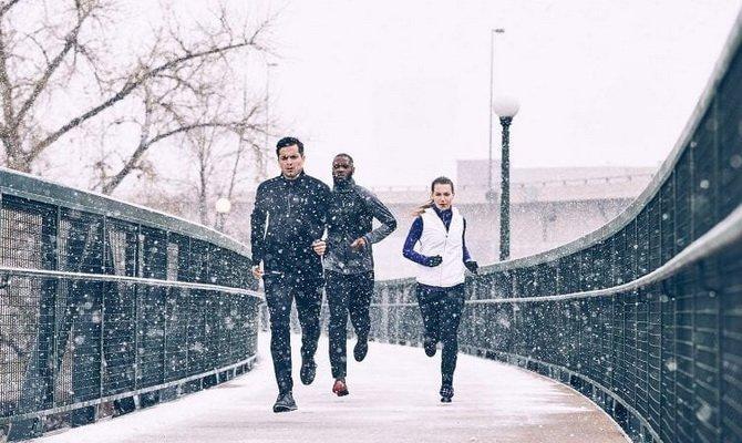Можно ли тренироваться на улице в холодную погоду