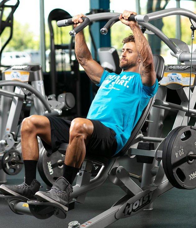 Тренировка для грудных мышц