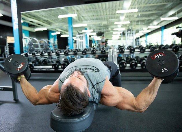 Упражнения для грудных мышц