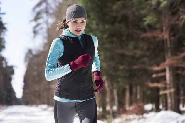 тренировка на улице в холодную погоду