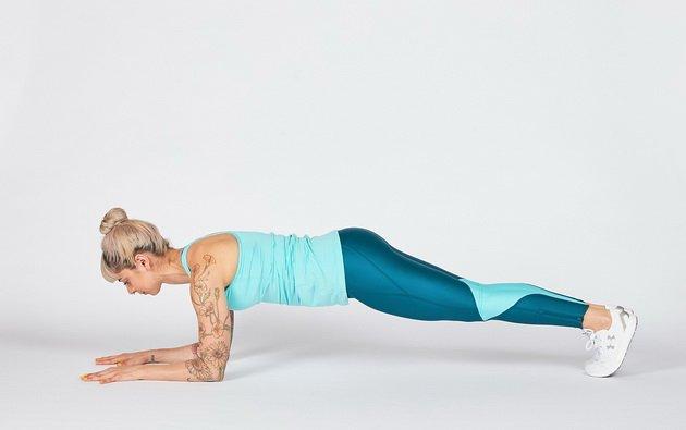 5 упражнений для кора от боли в спине у бегунов