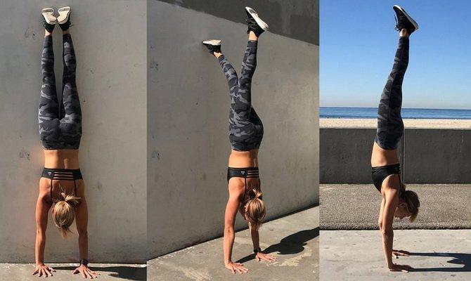 Как научиться делать стойку на руках правильная техника выполнения